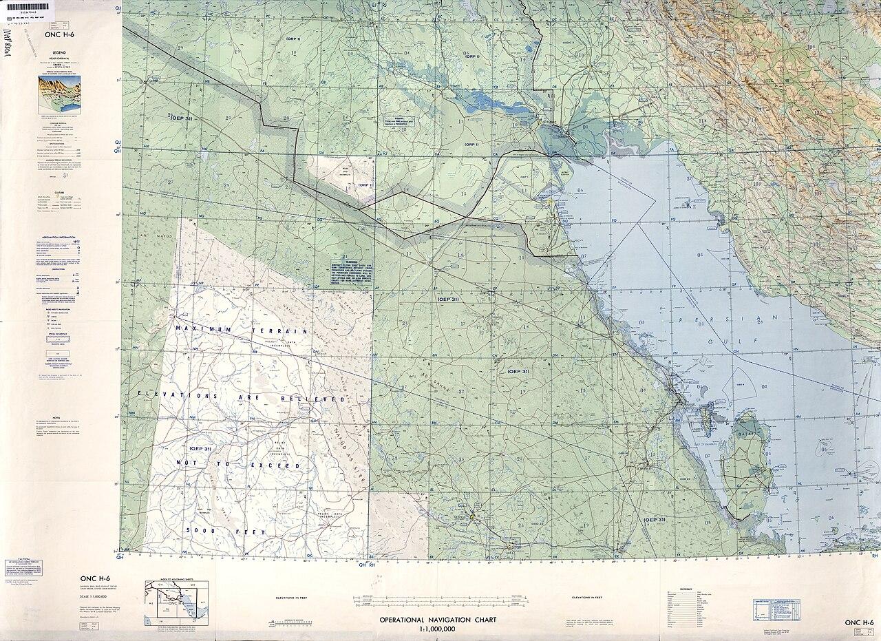 Time Zones Chart: Operational Navigation Chart H-6 4th edition.jpg - Wikimedia ,Chart