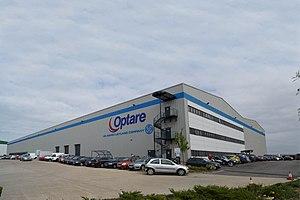 Sherburn-in-Elmet - Image: Optare Manufacturing Plant
