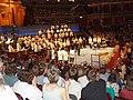 Orchestra applauded at the Royal Albert Hall - geograph.org.uk - 1430622.jpg