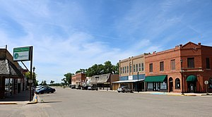 Ordway, Colorado - Main Street in Ordway.