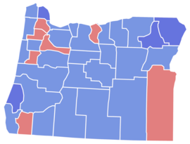 Oregon Senate Election Results by County, 1956.png