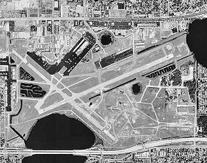 Orlando Executive Airport - USGS aerial photo as of 28 February 1999