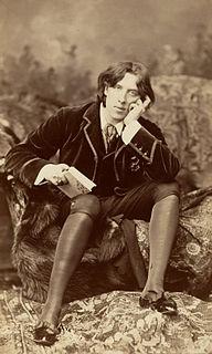 Oscar Wilde 19th-century Irish poet, playwright and aesthete