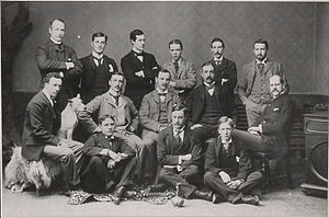 1893–94 Ottawa Hockey Club season - Formal team photo in 1894