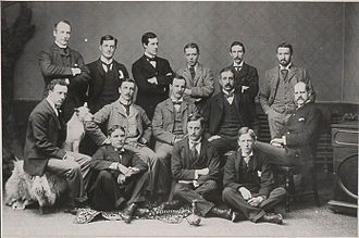 1893–94 Ottawa Hockey Club season - Formal team photo in 1894