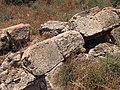 Overturned stones - south of Beit Dhikrin.jpg