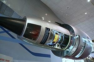 Pratt & Whitney JT9D - Image: P&W JT9D cutaway