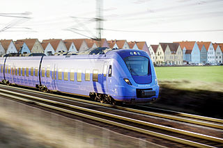 Pågatågen regional train system in Skåne, Sweden