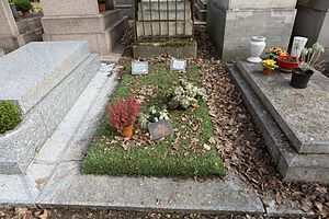 Mikola Abramchyk - Grave of Mikola Abramchyk in Paris