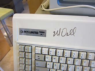 Michael Dell - A PC's Limited Turbo PC signed by Dell