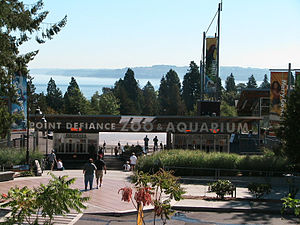 Point Defiance Zoo & Aquarium - The entrance to PDZA