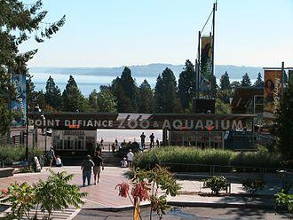 Point Defiance Zoo & Aquarium - The entrance to PDZA