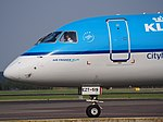 PH-EZT KLM Cityhopper Embraer ERJ-190STD (ERJ-190-100) taxiing, 25august2013 pic-3.JPG