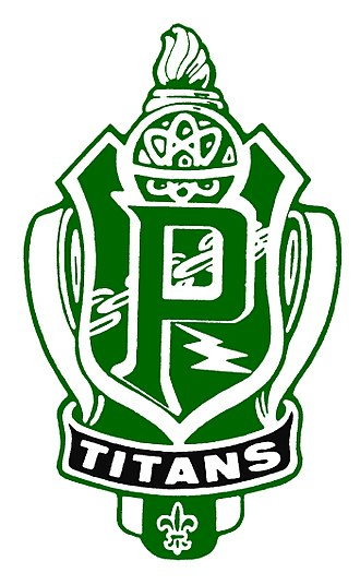 Pioneer High School (Whittier, California) - Image: PHS Official Crest