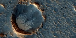 The Martian (film) - Ares III mission landing site (Acidalia Planitia region)