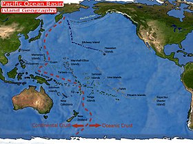 Pacific Ocean Wikipedia - West pacific islands map 1998
