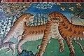 Painting in the entrance of Tashilhunpo Monastery, Shigatse, Tibet (1).jpg