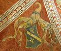 Palazzo comunale di s. miniato, sala delle sette virtù, volte 01 stemma ALDOBRANDINI di LIPPO.jpg