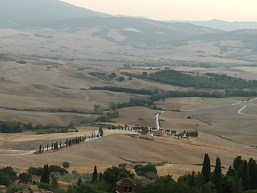 Val d'Orcia near Pienza