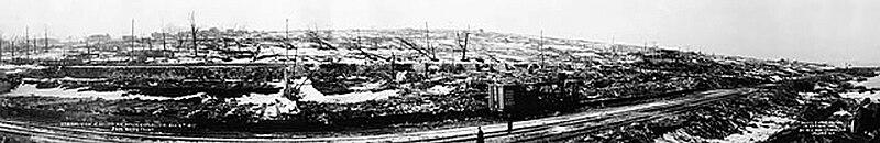 מבט על הליפקס לאחר הפיצוץ - הפודקאסט עושים היסטוריה