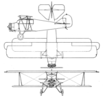 Paramount Cabinaire 110 3-view Aero Digest February 1929.png