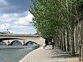Paris 75001 Port du Louvre Pont du Carrousel 20080713.jpg