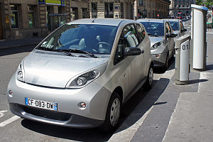 A-segment - Image: Paris Autolib 06 2012 Bluecar 2907