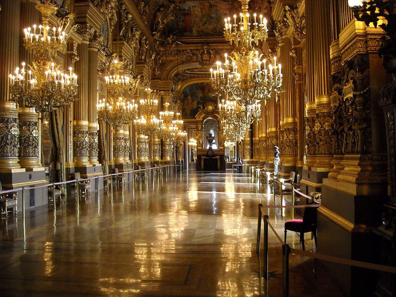 Grand Foyer Du Palais Garnier : File paris opera grand foyer of palais garnier g