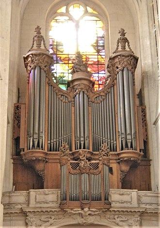 Couperin family - Organ of Saint-Gervais church