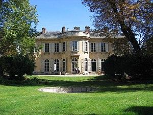 Hôtel de Bourbon-Condé - Garden front