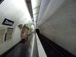 Paris metro danube