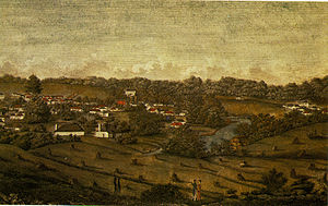 Parramatta - View of Parramatta in 1812