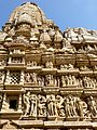 Parshwanath Temple Eastern Group of Temples Khajuraho India - panoramio (7).jpg