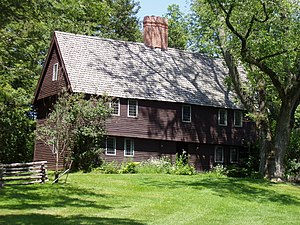Topsfield, Massachusetts - Parson Capen House, built in 1683