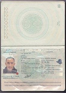 جواز سفر جزائري ويكيبيديا
