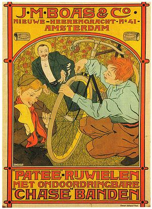 Johann Georg van Caspel - Image: Patee Rijwielen met ondoordringbare Chase Banden