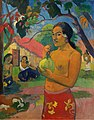 Paul Gauguin - Woman Holding a Fruit. Eu haere ia oe (Where Are You Going), 1893.jpg