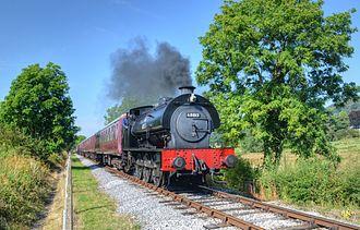 Peak Rail - No. 68013 'Royal Pioneer' in service in 2012