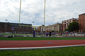 Gonzaga College High School - Gonzaga hosts Peddie School for a 2018 football game