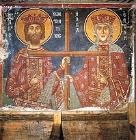 Constantine and Helen, Church of Archangel Michael, Pedoulas