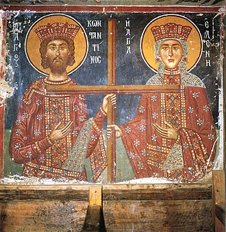 Painted Churches in the Troödos Region - Constantine and Helen, Church of Archangel Michael, Pedoulas