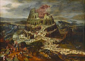 Peeter Baltens - The tower of Babel