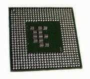 Pentium M 730 core Dothan backside