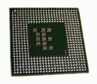 Pentium M - Pentium M 730 core Dothan backside