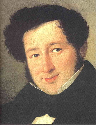 Gioachino Rossini - Portrait of Rossini as a young man