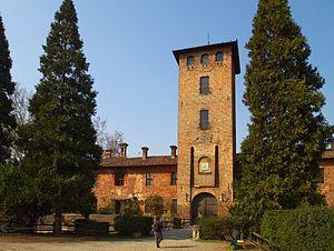 Peschiera Borromeo - The castle.