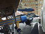 Petőfi Csarnok, Repüléstörténeti kiállítás, PZL-101 Gawron 2.JPG