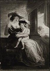 Helene Fourment und Sohn Frans (Kopie nach)