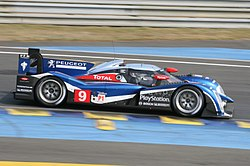 Peugeot 908 at Le Mans Pretest 2011
