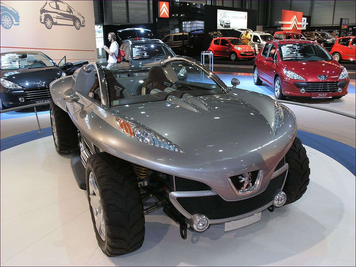 Used Car Engines >> Peugeot Hoggar (concept) - Wikipedia